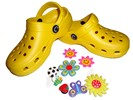 kids yellow clogsCloggis - Click for more information