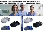 cloggis, hospital clogs, fur lined clogs, fur clogs, full clogs, chefs clogs, kitchen clogsCloggis - Click for more information